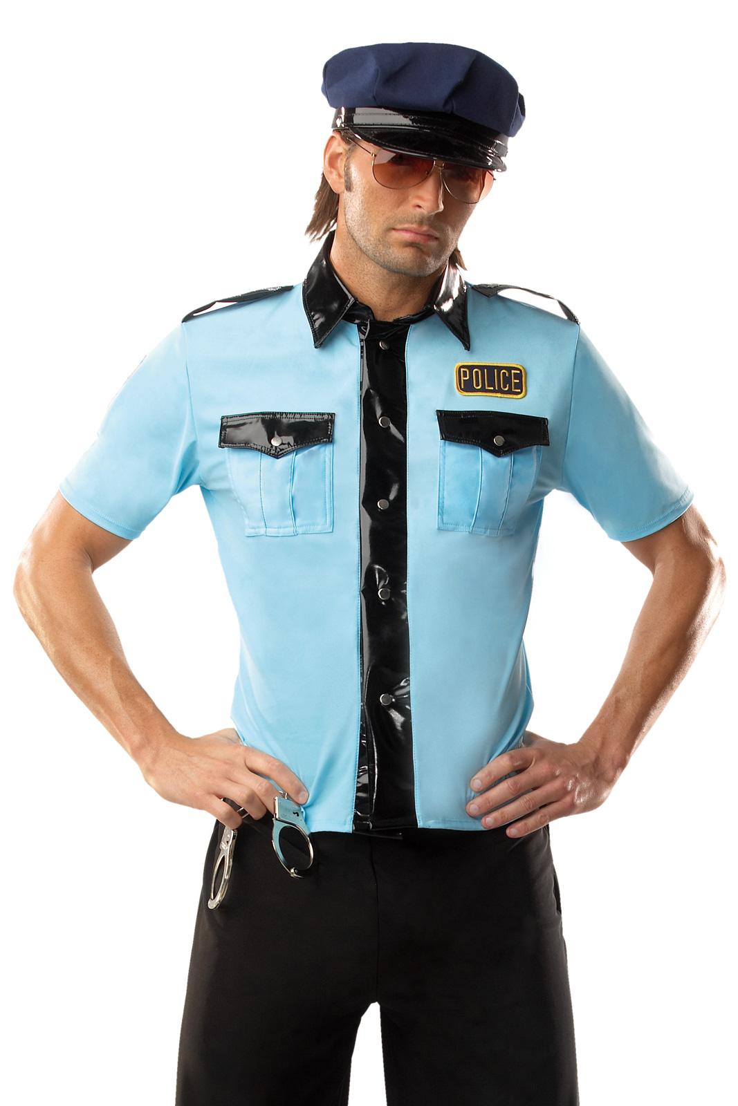 Men's Police Man Adult Costume - Large/XLarge BS-151165