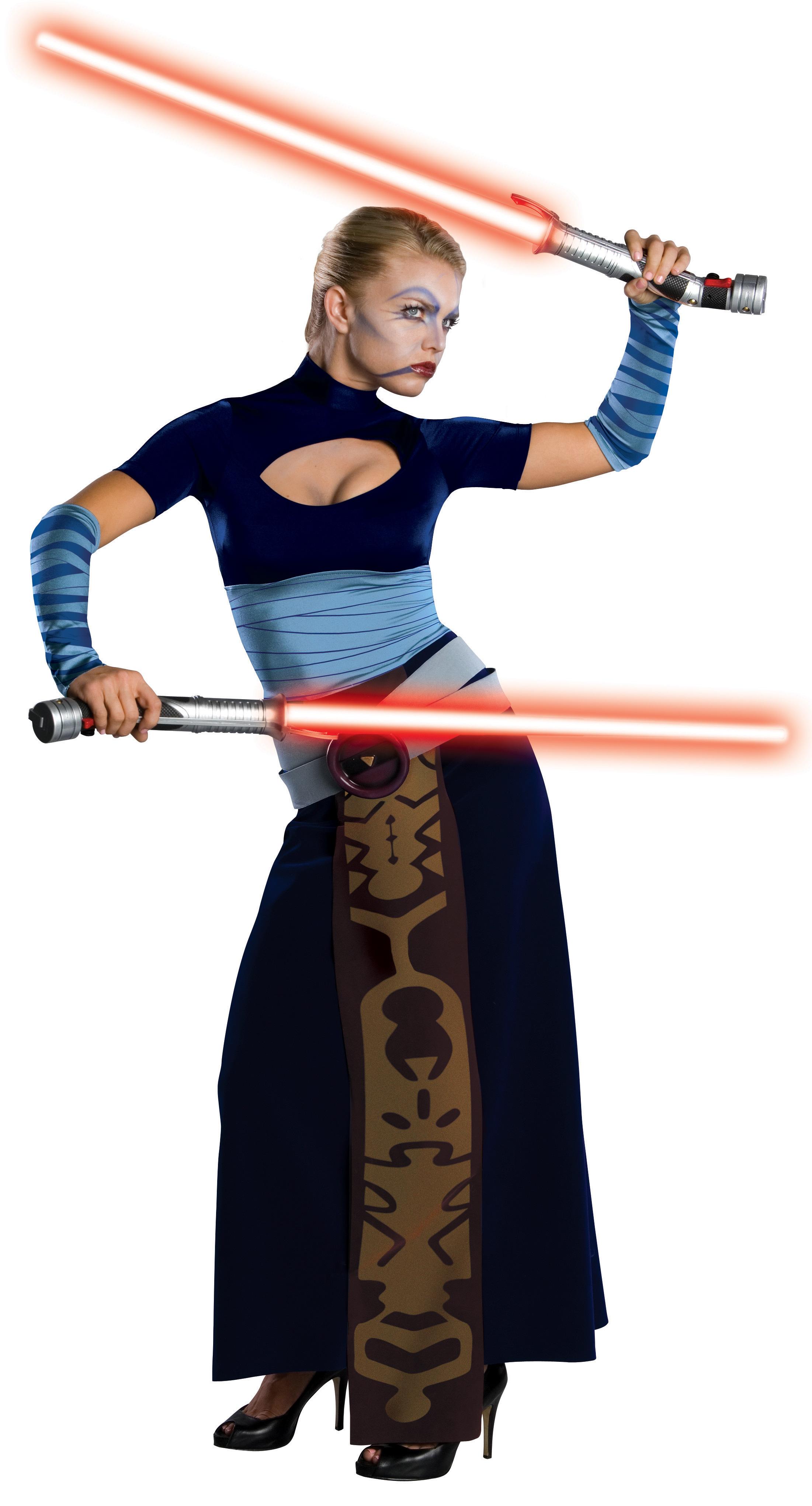 Women's Star Wars Clone Wars Asajj Ventress Adult Costume - Standard One-Size BS-150014
