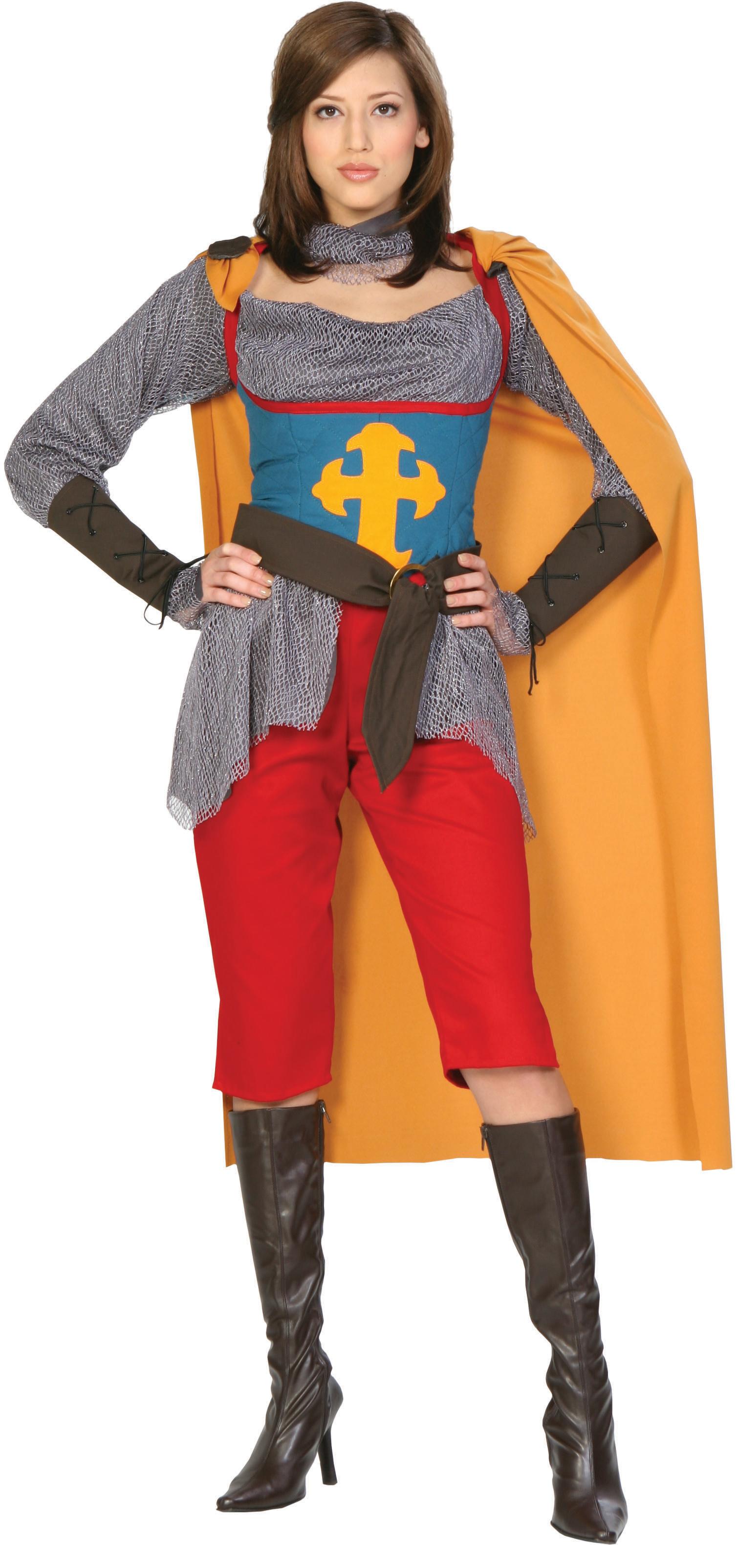 Joan Of Arc Adult Costume - SpicyLegs.com
