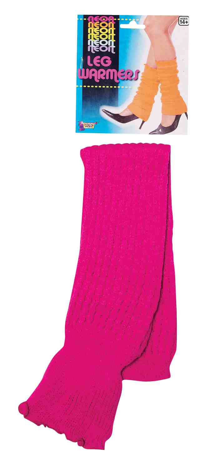 Women's Neon Leg Warmers - Pink BS-214391