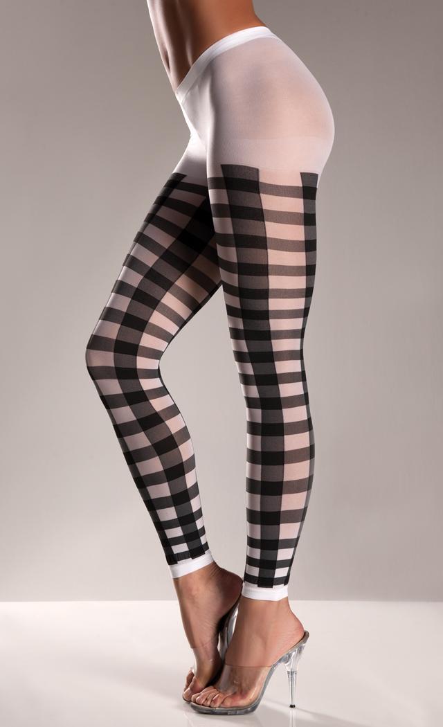 Why women wear footless pantyhose