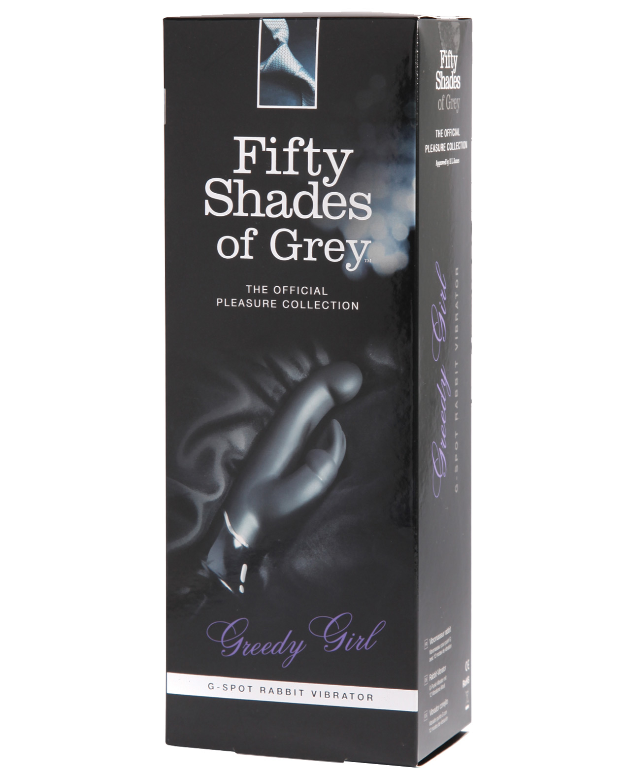 Fifty Shades of Grey Greedy Girl Rechargeable G Spot Rabbit - Standard ED-FSG54811
