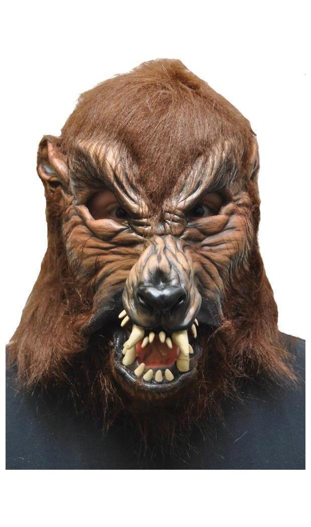 Men's Howl O Ween Latex Mask - Standard MC-4508BS