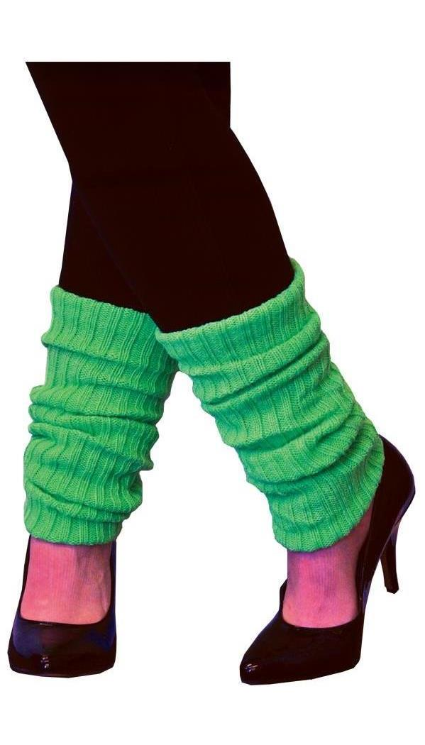 Women's Adult Neon Green Leg Warmers - Standard MC-AA106
