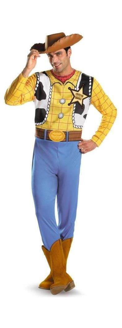 Men's Toy Story- Woody Adult Classic Costume - 42-46 MC-DG13579D