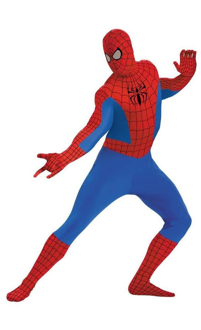 Men's Spider-Man Bodysuit Costume - Standard MC-DG50362C