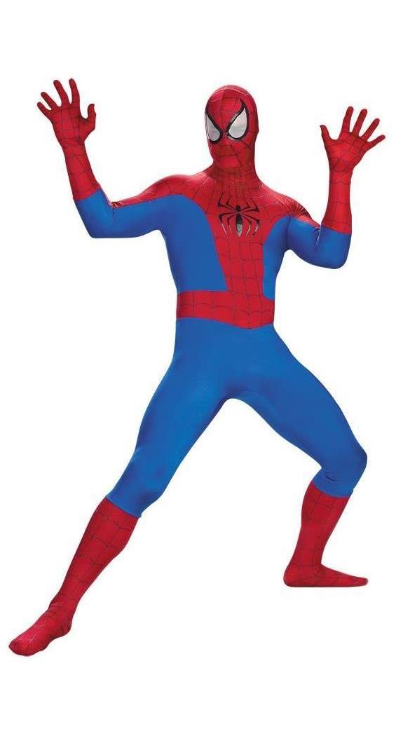 Men's Spiderman Adult Costume - Standard MC-DG5907T