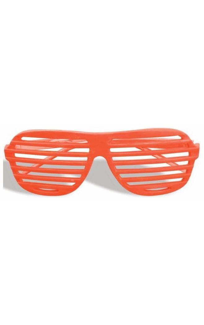 80s Neon Green Slot Adult Glasses Forum Novelties Inc