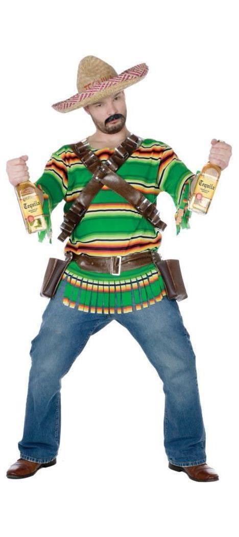 Men's Tequila Pop N Dude Costume - Standard MC-FW119434