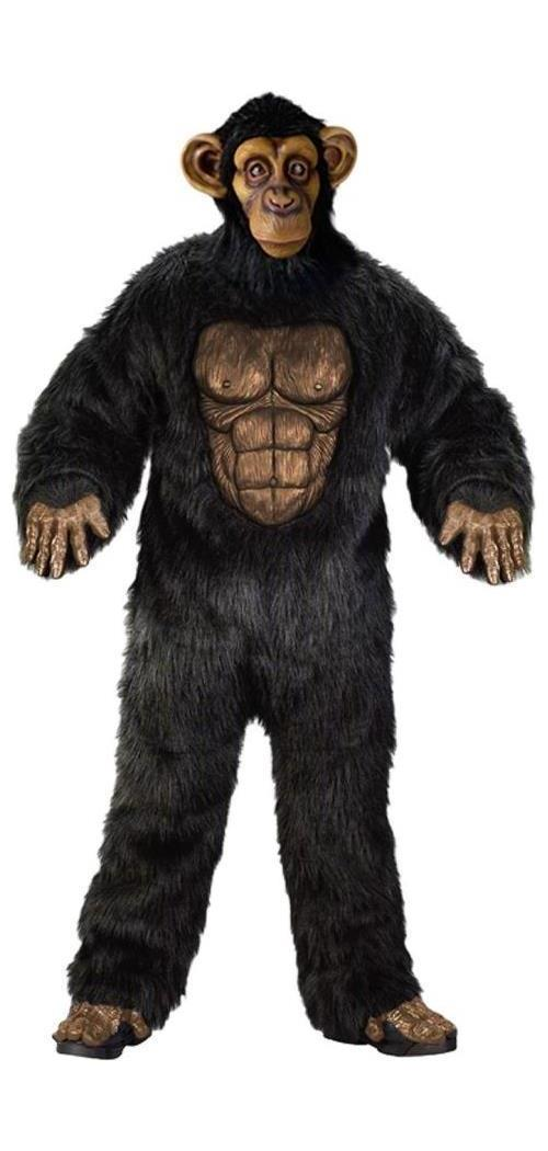 Men's Comical Chimp Adult - Standard MC-FW130304