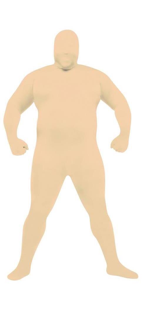 Men's Skin Suit Nude Adult Plus - Standard MC-FW131265NU