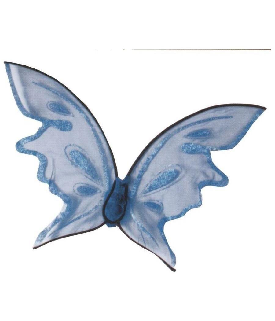Women's Wings Butterfly Blue Hot Color - Standard MC-FW90456BU