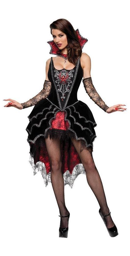 Women's Webbed Mistress Adult Costume - 12-14 MC-IC8022LG