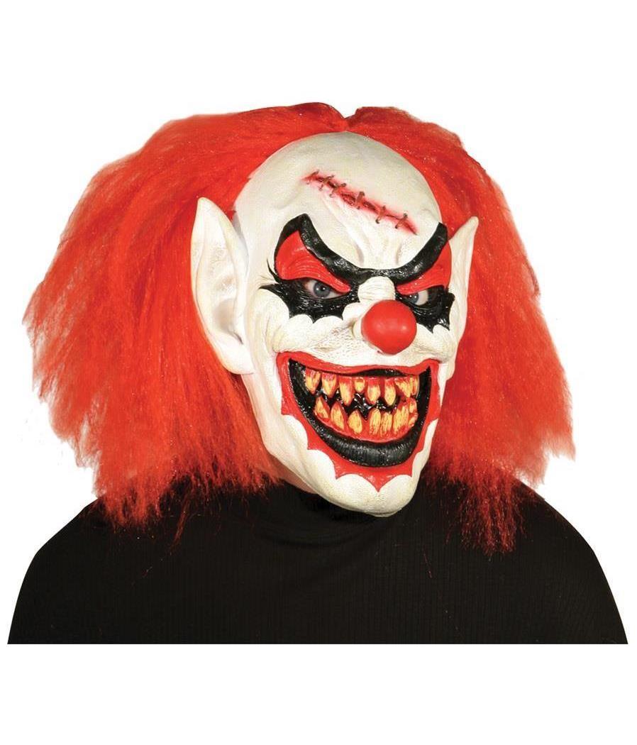 Как сделать маску клоуна убийцы