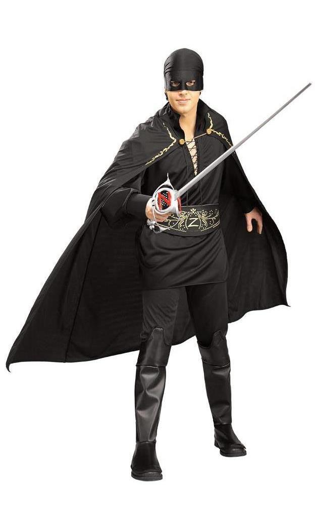 Men's Zorro Adult Costume - Standard MC-RU16916