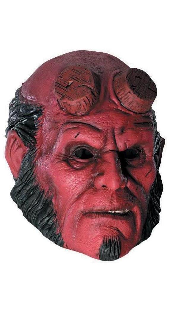 Men's Hellboy Vinyl Mask - Standard MC-RU4171