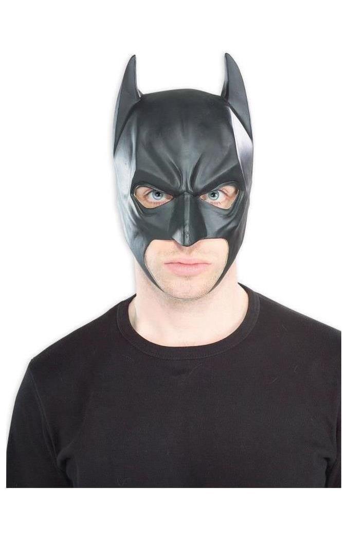 Men's Batman Vinyl Mask - Standard MC-RU4201