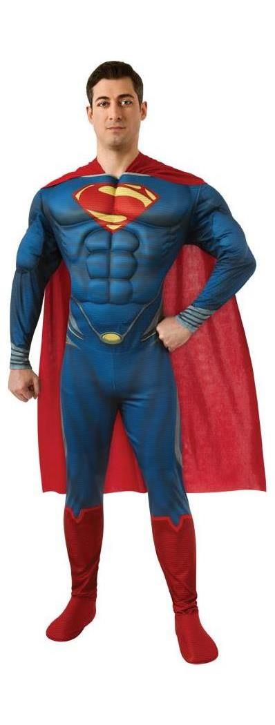 Men's Superman Adult Costume - 42-44 MC-RU887157XL