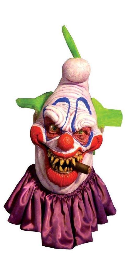 Men's Big Boss Clown Latex Mask - Standard MC-TA02