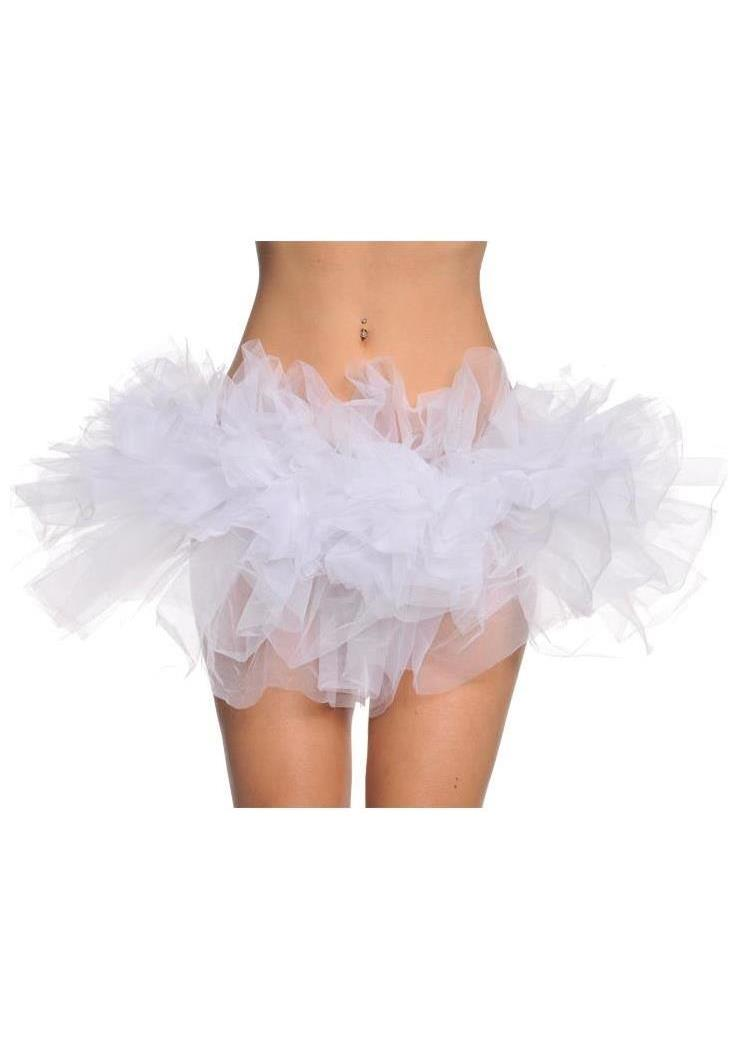 tutu white skirt spicylegs