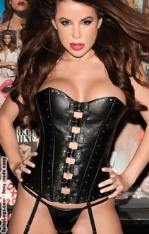 Women's Sexy Leather Corset