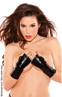 Women's Naughty Kitten Gloves - One Size