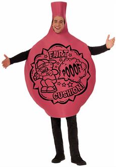 Men's Woopie Cushion Adult Costume - Red - L/XL