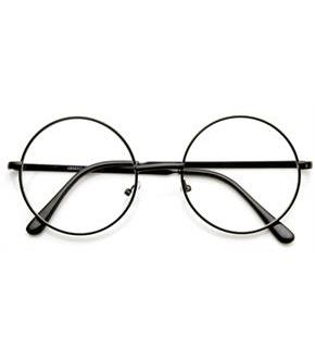 Women's Harry Potter Deluxe Glasses - Black - One Size