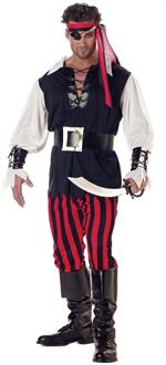 Men's Cutthroat Pirate Adult Costume for Halloween
