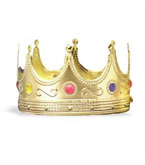 Women's Regal King Crown - Red - One-Size