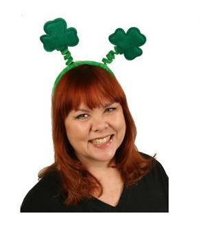 Women's Shamrock Soft-Touch Head Bopper - Green - One-Size