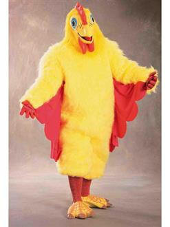 Men's Comical Chicken Adult Costume - Yellow - Standard One-Size