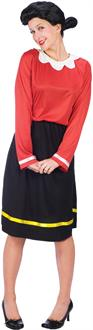 Women's Olive Oyl Adult Costume