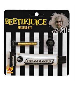 Women's Beetlejuice Makeup Kit - White - One Size
