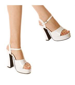 Women's Lea (White) Adult Shoes