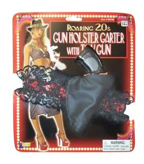 Women's Gun and Holster Garter - Red/Black - One-Size for New Year