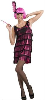 Women's 20's Pink Flapper Adult Costume