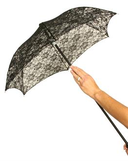 Women's Parasol Lace - Black