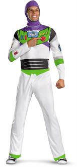 Men's Disney Toy Story - Buzz Lightyear Adult Costume - White