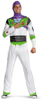 Men's Disney Toy Story - Buzz Lightyear Adult Plus Costume - White
