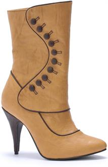 Women's Ruth Victorian (Tan) Adult Boots