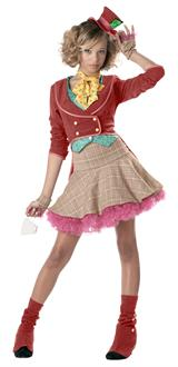 Women's The Mad Hatter Teen Costume