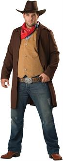 Men's Rawhide Renegade Plus Adult Costume