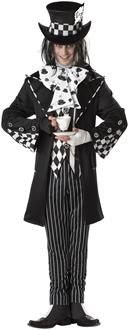 Men's Dark Mad Hatter Adult Costume