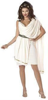 Women's Deluxe Classic Toga (Female) Adult Costume