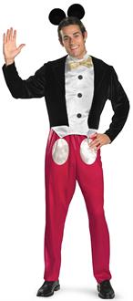 Men's Disney Mickey Mouse Adult Costume - Black - X-Large (42-46)
