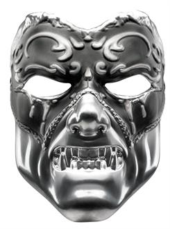 Women's Evil Masquerade Mask (Adult) - Silver - One-Size