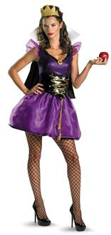 Women's Snow White Evil Queen Sassy Adult Costume