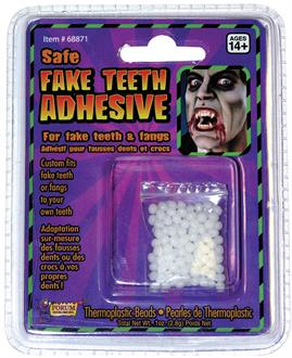 Women's Teeth Replacement Adult Adhesive - Clear - One-Size