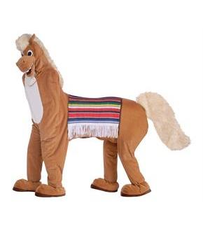 Men's Two Man Horse Adult Costume - Brown - Standard for Halloween